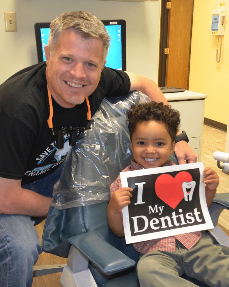 Dr. Aaron Kamp is a kids favorite dentist in Tucson