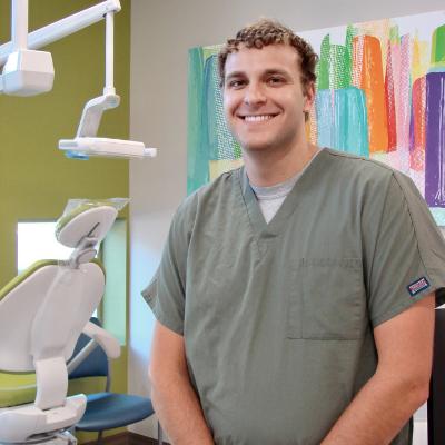 Dr. Conner Vinikoor is a board certified pediatric dentist