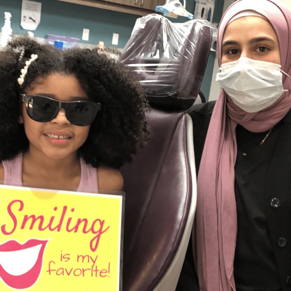 Dr. Jasmine Dahshan likes being a kids dentist because they laugh at her jokes