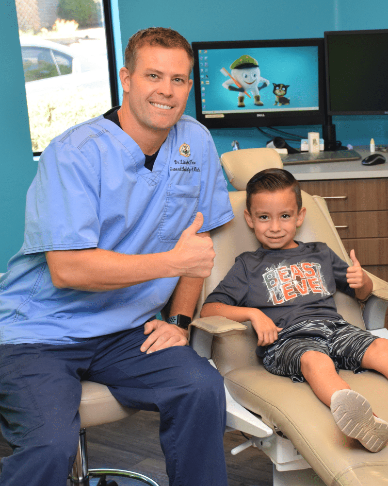 Dr. Lincoln Pace enjoys being a kids dentist