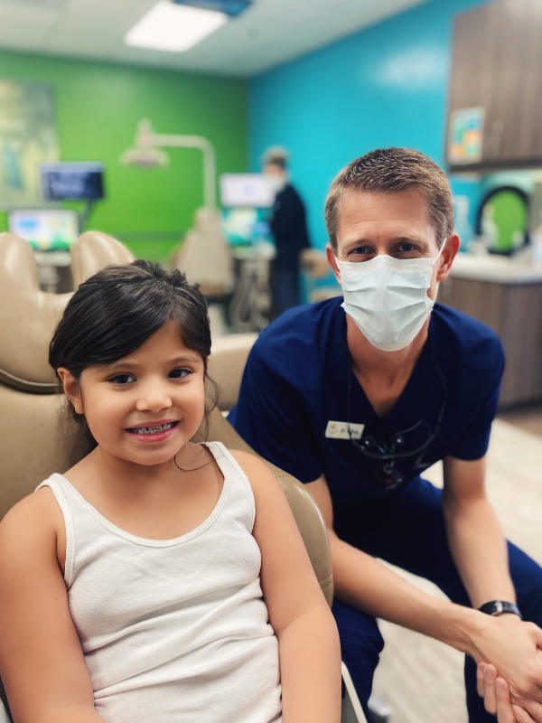 Happy Patient and Dentist  in Tucson